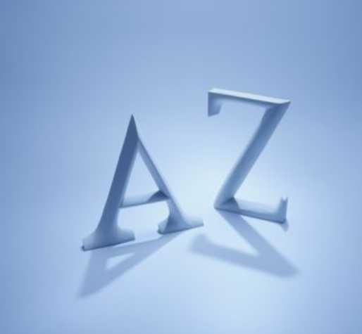 Thème de soirée déguisée lettre de l'alphabet