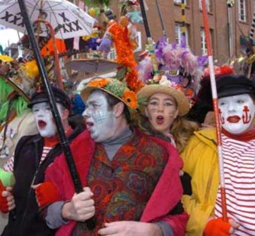 thème de soirée déguisée Carnaval de Dunkerque