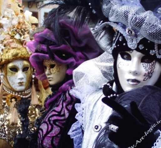 Thème de soirée déguisée Carnaval deV enise