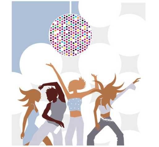 thème de soirée déguisée Disco