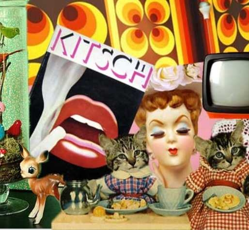 thème de soirée déguisée Kitsch