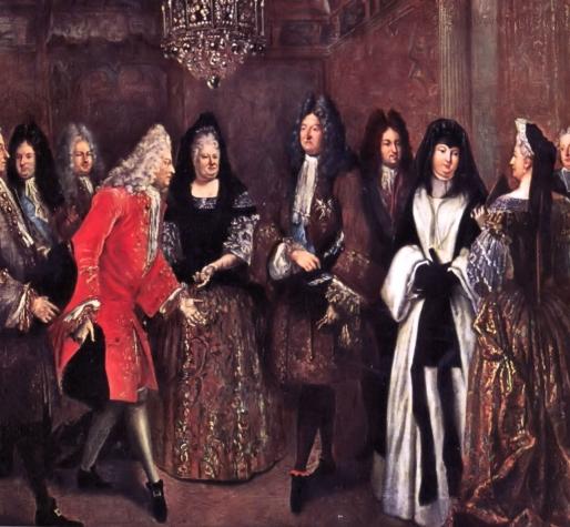Thème de soirée déguisée Louis XIV