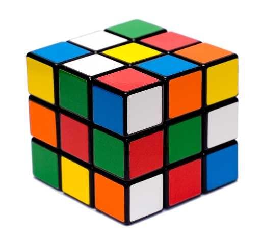 Thèmes de soirée déguisée Rubik's cube