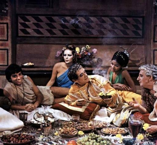 thème de soirée déguisée romaine