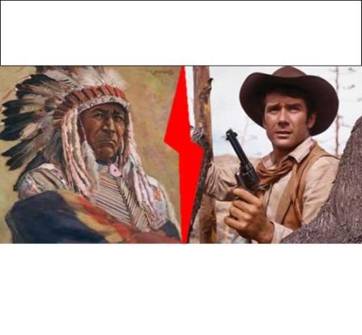 Thème de soirée déguisée Western cowboy indiens