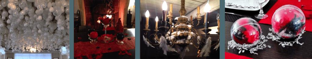 Decoration Noir Et Argent : Soirée anges et démons thème de